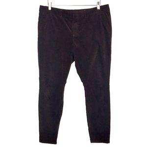KUT From The Kloth Velvet Skinny Leg Trouser